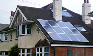 Save energy UK solar powered ventilation systems in poole, dorset.